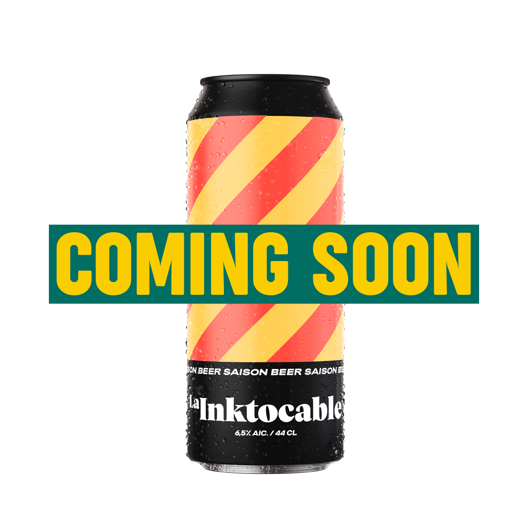Cerveza La Inktocable Lata de 44 CL - Coming soon